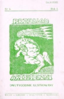 Przegląd Artystyczny. R. 1, nr 4 (1925)