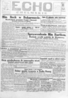 Echo Chełmskie. R. 1, nr 11 (9 maj 1934)