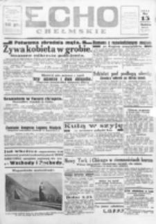 Echo Chełmskie. R. 1, nr 15 (13 maj 1934)