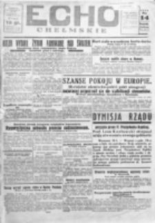 Echo Chełmskie. R. 1, nr 16 (14 maj 1934)