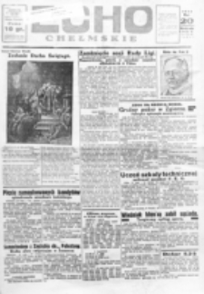 Echo Chełmskie. R. 1, nr 22 (20 maj 1934)