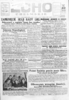 Echo Chełmskie. R. 1, nr 23 (22 maj 1934)