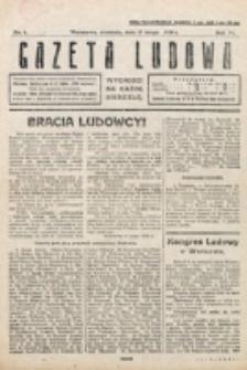 Gazeta Ludowa : wychodzi na każdą niedzielę. R. 6, nr 7 (1920)
