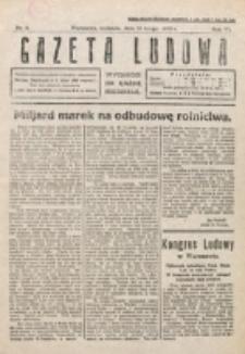 Gazeta Ludowa : wychodzi na każdą niedzielę. R. 6, nr 8 (1920)