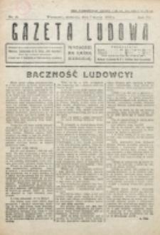 Gazeta Ludowa : wychodzi na każdą niedzielę. R. 6, nr 10 (1920)