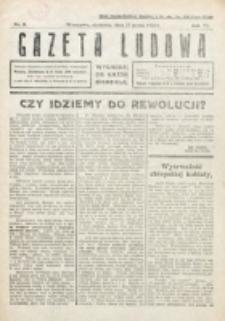 Gazeta Ludowa : wychodzi na każdą niedzielę. R. 6, nr 11 (1920)
