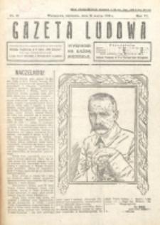 Gazeta Ludowa : wychodzi na każdą niedzielę. R. 6, nr 12 (1920)