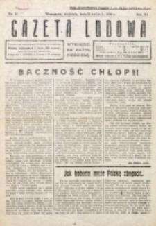 Gazeta Ludowa : wychodzi na każdą niedzielę. R. 6, nr 15 (1920)