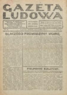 Gazeta Ludowa : wychodzi na każdą niedzielę. R. 6, nr 20 (1920)