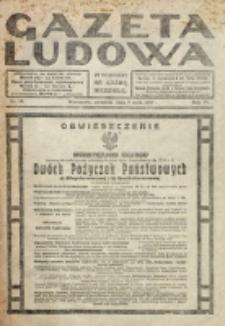 Gazeta Ludowa : wychodzi na każdą niedzielę. R. 6, nr 19 (1920)