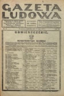 Gazeta Ludowa : wychodzi na każdą niedzielę. R. 6, nr 21 (1920)
