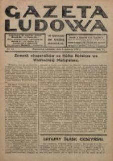 Gazeta Ludowa : wychodzi na każdą niedzielę. R. 6, nr 23 (1920)