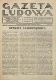 Gazeta Ludowa : wychodzi na każdą niedzielę. R. 6, nr 24 (1920)