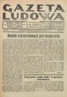 Gazeta Ludowa : wychodzi na każdą niedzielę. R. 6, nr 25 (1920)