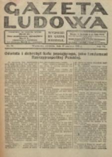 Gazeta Ludowa : wychodzi na każdą niedzielę. R. 6, nr 26 (1920)