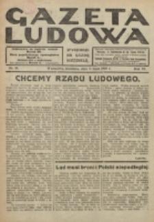 Gazeta Ludowa : wychodzi na każdą niedzielę. R. 6, nr 28 (1920)