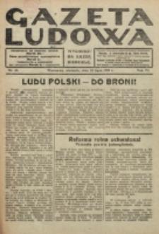 Gazeta Ludowa : wychodzi na każdą niedzielę. R. 6, nr 30 (1920)