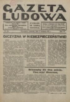 Gazeta Ludowa : wychodzi na każdą niedzielę. R. 6, nr 33 (1920)