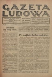 Gazeta Ludowa : wychodzi na każdą niedzielę. R. 6, nr 36 (1920)