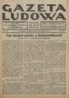 Gazeta Ludowa : wychodzi na każdą niedzielę. R. 6, nr 37 (1920)