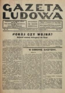Gazeta Ludowa : wychodzi na każdą niedzielę. R. 6, nr 39 (1920)
