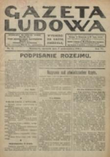 Gazeta Ludowa : wychodzi na każdą niedzielę. R. 6, nr 42 (1920)