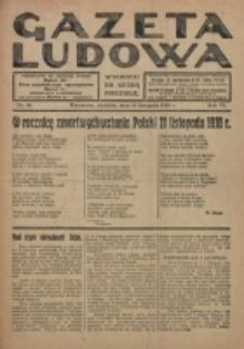 Gazeta Ludowa : wychodzi na każdą niedzielę. R. 6, nr 46 (1920)