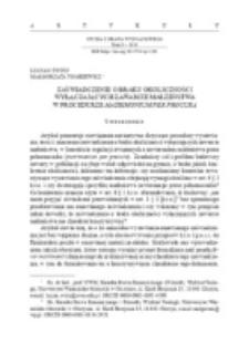 Zaświadczenie o braku okoliczności wyłączających zawarcie małżeństwa w procedurze matrimonium per procura.
