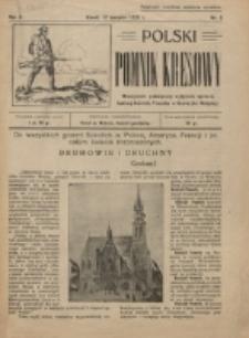 Polski Pomnik Kresowy : miesięcznik, poświęcony wyłącznie sprawie budowy Kościoła-Pomnika w Kowlu (na Wołyniu). R. 2, nr 8 (1925)