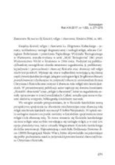 Zbigniew Kubacki SJ, Kościół, religie i zbawienie, Kraków 2016, ss. 681.