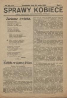 Sprawy Kobiece. R. 1, nr 23=25 (1925)