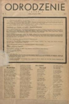 Odrodzenie : tygodnik. R. 1, nr 1 (3 września 1944)