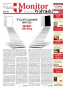 Monitor Wołyński = Volin'skij Monitor. Nr 4 (2010)