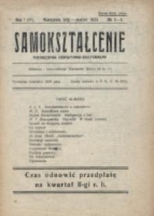 Samokształcenie : miesięcznik oświatowo-kulturalny. R. 1=4, nr 2/3 (1923)