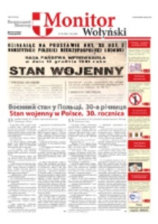 Monitor Wołyński = Volin'skij Monitor. Nr 23 (2011)