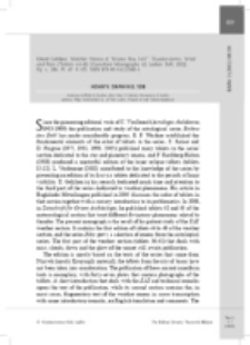 "Recenzja : Erlend Gehlken, Weather Omens of ""Enūma Anu Enlil"": Thunderstorms, Wind and Rain (Tablets 44-49) (Cuneiform Monographs 43; Leiden: Brill, 2012). Pp. x, 286. Pl. 47. € 105. ISBN 978-90-04-22588-6."
