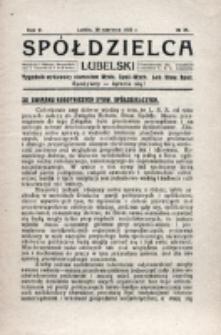 Spółdzielca Lubelski. R. 5, nr 25 (1921)