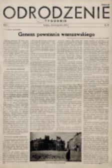Odrodzenie : tygodnik. R. 2, nr 19 (8 kwietnia 1945)