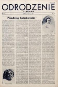 Odrodzenie : tygodnik. R. 2, nr 32 (8 lipca 1945)
