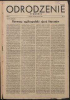 Odrodzenie : tygodnik. R. 2, nr 44 (30 września 1945)