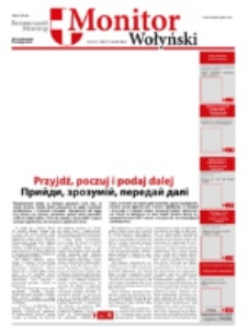 Monitor Wołyński = Volin'skij Monitor. Nr 16/17 (2013)