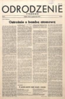 Odrodzenie : tygodnik. R. 2, nr 46 (14 października 1945)