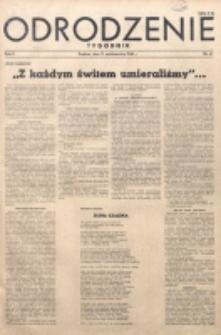 Odrodzenie : tygodnik. R. 2, nr 47 (21 października 1945)
