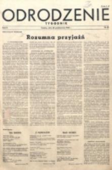 Odrodzenie : tygodnik. R. 2, nr 48 (28 października 1945)