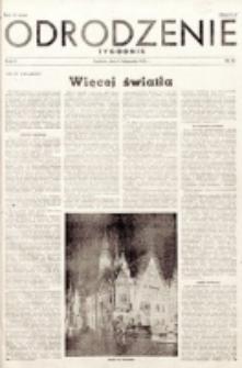 Odrodzenie : tygodnik. R. 2, nr 50 (11 listopada 1945)