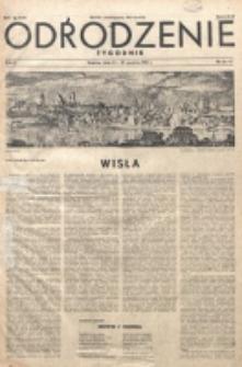 Odrodzenie : tygodnik. R. 2, nr 56/57 (23/30 grudnia 1945)