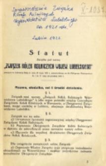 Sprawozdanie Związku Kółek Rolniczych Województwa Lubelskiego za 1921 Rok / C.Z.K.R.