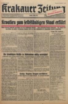 Krakauer Zeitung. Jg. 3, Folge 84 (1941)