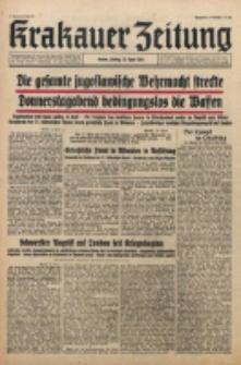 Krakauer Zeitung. Jg. 3, Folge 88 (1941)