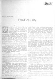 Świat : [pismo tygodniowe ilustrowane poświęcone życiu społecznemu, literaturze i sztuce. R. 1 (1906), nr 3 (20 stycznia)